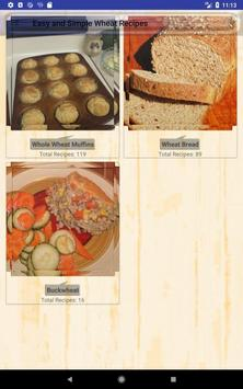 Easy and Simple Wheat Recipes screenshot 16