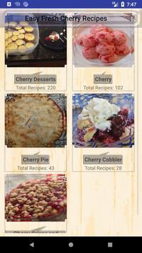 Easy Fresh Cherry Recipes poster