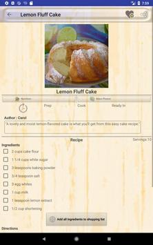 Easy Fresh Lemon Recipes screenshot 17
