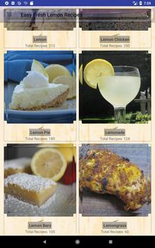 Easy Fresh Lemon Recipes screenshot 8