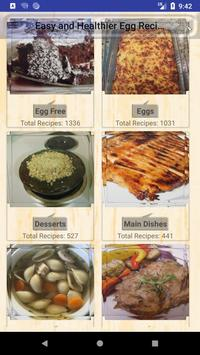 Easy & Healthier Egg Recipes poster