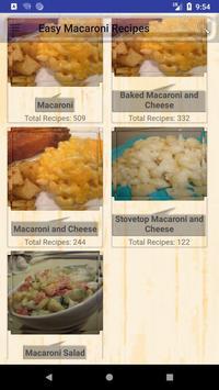 Easy Macaroni Recipes poster