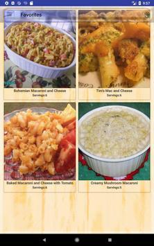 Easy Macaroni Recipes screenshot 14
