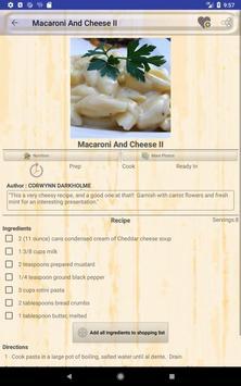Easy Macaroni Recipes screenshot 10