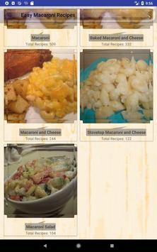 Easy Macaroni Recipes screenshot 8