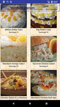 Fresh Oranges Recipes screenshot 1
