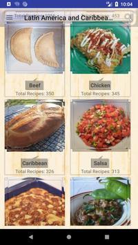 Latin America & Caribbean Recipes poster