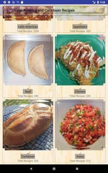 Latin America & Caribbean Recipes screenshot 15