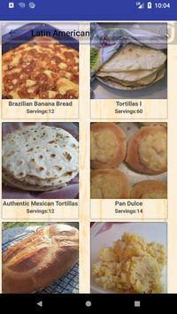 Latin America & Caribbean Recipes screenshot 1