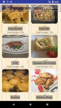 Popular Snacks Recipes poster