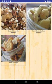 Popular Snacks Recipes apk screenshot