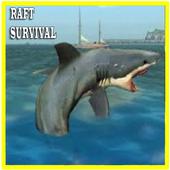 Hero in Raft Survival icon