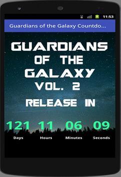 Countdown to Guardians Vol. 2 screenshot 1