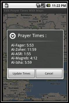 Prayer Times With Google Maps screenshot 4