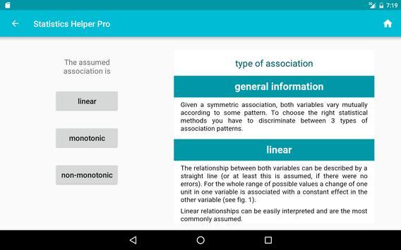 statistics helper apk screenshot