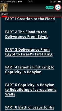 Audio Bible Stories With Text screenshot 2