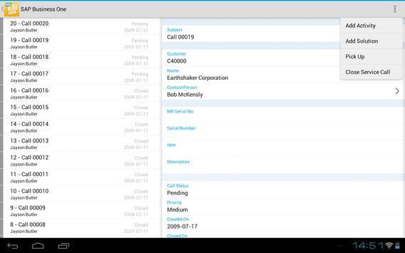 SAP Business One screenshot 10