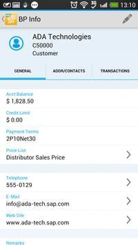 SAP Business One screenshot 3