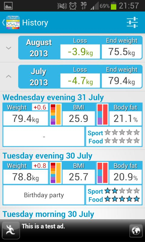 my weight tracker bmi apk download free health fitness app for