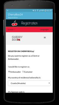 CherryBox24 apk screenshot