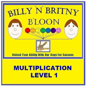Multiplication Level 1 Free icon