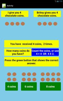 Multiplication Level 1 Free screenshot 18