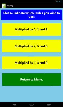 Multiplication Level 1 Free screenshot 21
