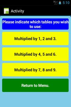 Multiplication Level 1 Free screenshot 6