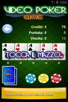 Video Poker Classic Free screenshot 1