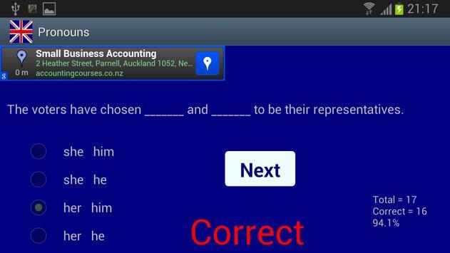 Pronouns screenshot 1