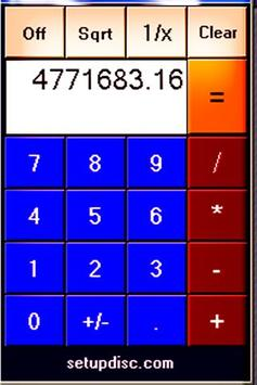 WASIL Basic Calculator apk screenshot