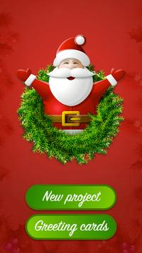 Christmas PhotoEditor Greeting poster