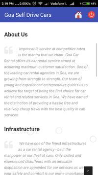 Goa Self Drive Cars apk screenshot