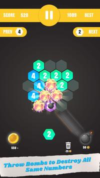 Hexa Merge: Launch & Merge Hexa screenshot 4