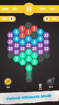 Hexa Merge: Launch & Merge Hexa screenshot 2