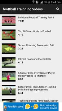 Football Training Videos poster
