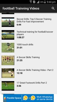 Football Training Videos screenshot 1