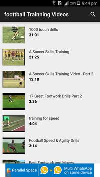 Football Training Videos screenshot 2