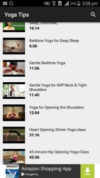 Yoga Tutorials apk screenshot