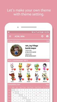 Wiki for Animal Crossing NL - Wish List, Chart... apk screenshot