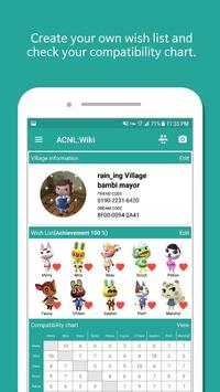 Wiki for Animal Crossing NL - Wish List, Chart... poster