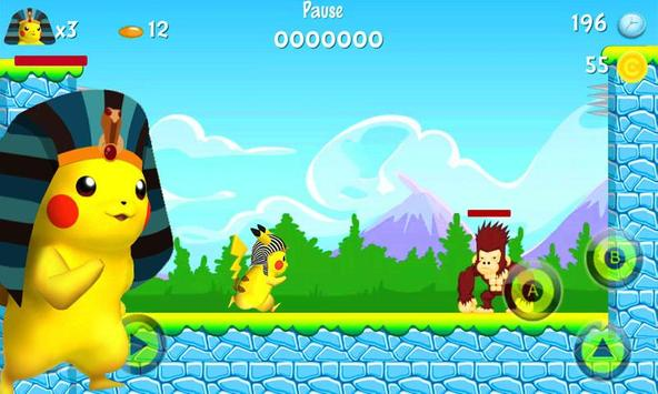 Pikachu Pharaoh Run Dash screenshot 3