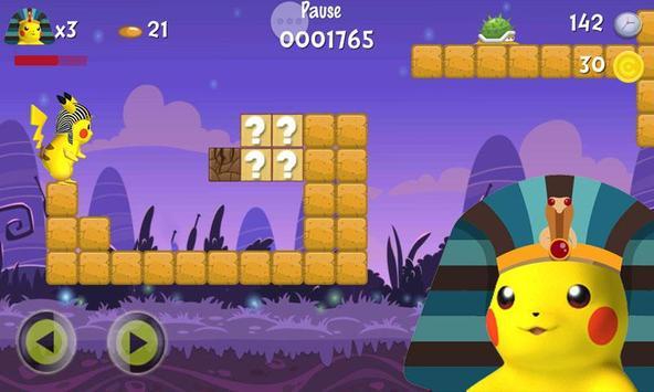 Pikachu Pharaoh Run Dash poster
