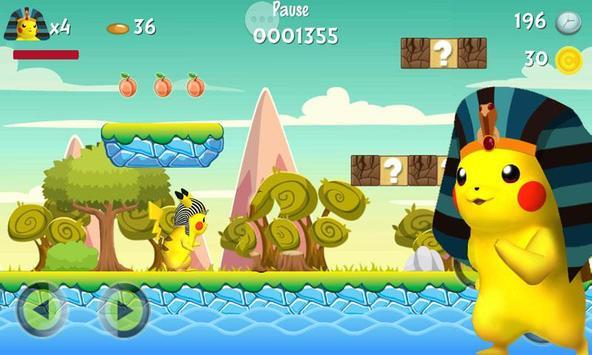Pikachu Pharaoh Run Dash screenshot 1