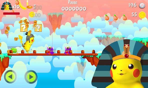 Pikachu Pharaoh Run Dash screenshot 2