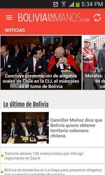 boliviaentusmanos poster