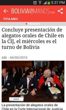 boliviaentusmanos apk screenshot