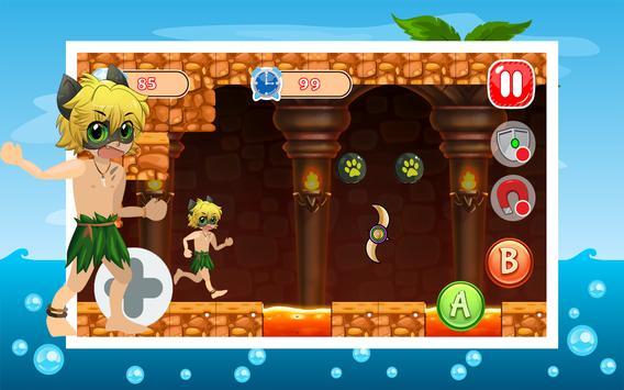 Cat Noir Adventure Island apk screenshot