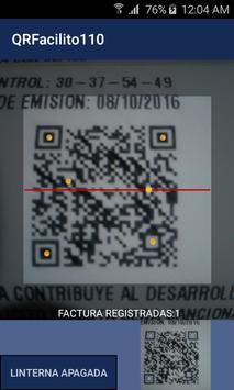 QR Facilito 110 - Facturas screenshot 1