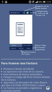 QR Facilito 110 - Facturas screenshot 23